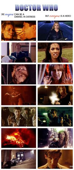 Why I respect Doctor who so much. The people who are helpless, rise above to make sire they're never helpless again.