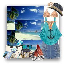 """Day At The Beach..."" by kimberlyd-2 ❤ liked on Polyvore featuring Pierre Balmain, Billabong, Aventura, Longchamp, La Mer, VonZipper, Pier 1 Imports, Nautical, beachwear and Beachbag"
