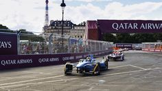 Buemi takes crushing Paris ePrix victory Formula E, Victorious, Paris, Montmartre Paris
