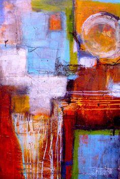SoHo - lovely abstract painting #art #painting #SoHo