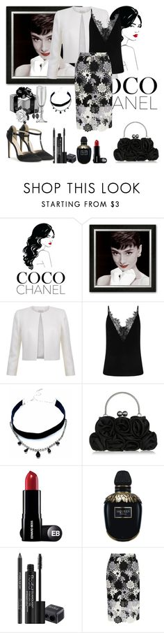 """Untitled #1117"" by misaflowers ❤ liked on Polyvore featuring Chanel, Child Of Wild, Alexander McQueen, Rodial and True Decadence"