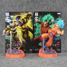 Dragon Ball Super Golden Frieza VS Goku Action Figure PVC //Price: $17.00  ✔Free Shipping Worldwide   Tag your friends who would want this!   Insta :- @fandomexpressofficial  fb: fandomexpresscom  twitter : fandomexpress_  #shopping #fandomexpress #fandom