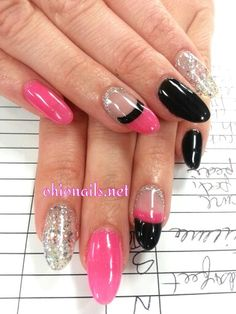 #almond nails