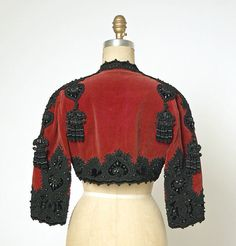 House of Balenciaga Evening bolero, French, 1946-47, silk, wool, beading
