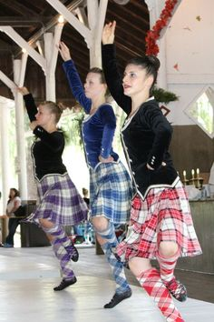 Highland dancers at the Ligonier Highland Games