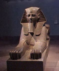 Colossal Sphinx of Hatshepsut  Early Dynasty 18; joint reign of Hatshepsut and Thutmose III (1479�1458 B.C.)
