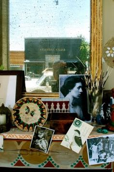 Charleston, the country home of the writers, painters and intellectuals known as the Bloomsbury group.