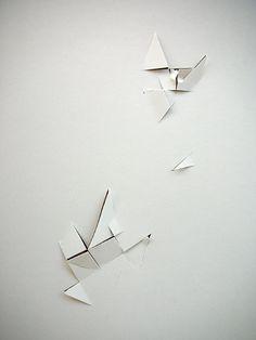"Vjeko Sager, Antimatter, 2008, paper cutouts 12"" x 8"""
