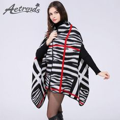 Autumn Winter Cashmere Poncho Woman Scarves Pashmina $22.96   => Save up to 60% and Free Shipping => Order Now! #fashion #woman #shop #diy  http://www.scarfonline.net/product/aetrends-2016-new-autumn-winter-cashmere-poncho-women-leopard-striped-cape-woman-scarves-pashmina-z-3154/