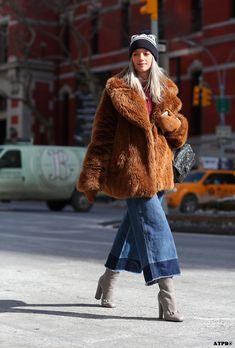 yes to denim culottes for fall