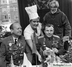 Gagarin visits Copenhagen at Ida Davidsen.