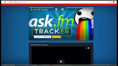 Ask FM Tracker, Best Hack for Ask FM