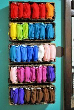 Pinteresting Cloth Diaper Storage Ideas   The Anti June Cleaver