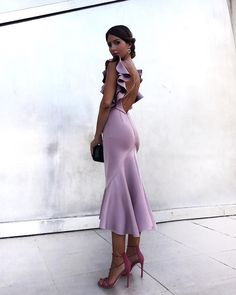 Cheap Dresses, Buy Directly from China Suppliers:Adyce Women Dress Summer Vestidos Verano 2018 Celebrity Party Dress Violet Ruffles Butterfly Sleeveless Backless Mermaid Dresses Elegant Dresses, Beautiful Dresses, Formal Dresses, Cheap Dresses, Wedding Dresses, Dress Up, Bodycon Dress, Ariel Dress, Bodycon Style