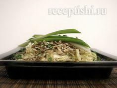 Салат капустный с подсолнечником