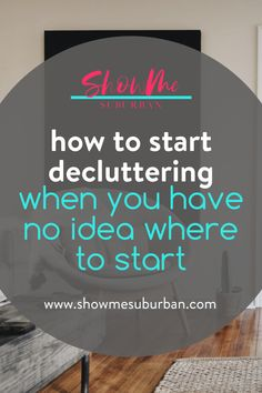 Want to start organizing your home, but not sure how? This simple tutorial is filled with tips and ideas on how to start organizing your home. Plus free printables to help you declutter and get organized!