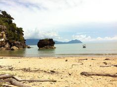Bako National Park beach, Malaysia