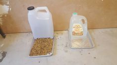 DIY Auto Cat Water and Feeder