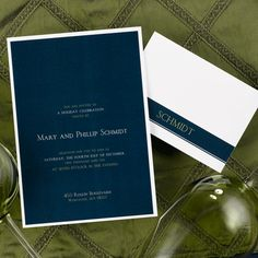 Invitations for winter weddings, holiday parites and special events. Classical stripes on this neutral backdrop make for a sophisticated party invitation this holiday season. Format, verse and imprint color are available only as shown