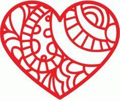 silhouette heart - Pesquisa do Google
