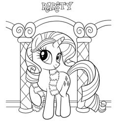 980+ Gambar Hitam Putih My Little Pony HD Terbaik