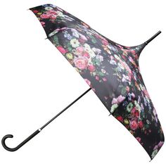 We love the ornate floral design of Ted Baker's Varka Oil Blossom Parasol. We think it is just the thing to put a smile back on your face when the grey clouds gather! £23.20 (Save 20%) #umbrella #flowers