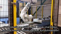 CNC Dik işlem Tezgah Besleme Robotu Tara Robotik Otomasyon