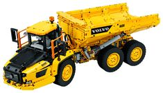 6x6 Volvo Articulated Hauler 42114 | Technic™ | Buy online at the Official LEGO® Shop US Lego Technic Sets, Lego Disney Princess, 6x6 Truck, Dump Truck, Volvo Trucks, Rc Trucks, Lego Creator, Technique Lego, Building Sets For Kids