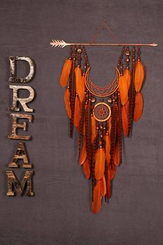 Arrow Dreamcatcher Moon Dreamcatcher Orange dreamcatcher sun