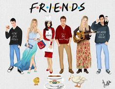 friends merchandise tv show Friends Show, Serie Friends, Friends Cast, Friends Moments, I Love My Friends, Friends Forever, Friends Episodes, Ross Geller, Phoebe Buffay