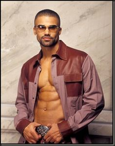 "Shemar Moore aka ""Derek Morgan"" on Criminal Minds"