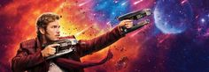 Guardians of the Galaxy Vol 2 character banners. 1 of 4