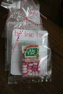 Tick tack toe with Tic Tac's.  Atkinson Adventures