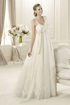 Brautkleider für Schwangere