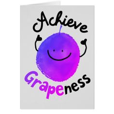 Positive Grape Pun - Achieve Grapeness Clipboard - diy cyo customize create your own personalize Puns Jokes, Food Puns, Funny Puns, Diy Funny, Memes, Fruit Puns, Funny Fruit, Funny Food, Grape Puns