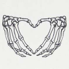 Kritzelei Tattoo, Doodle Tattoo, Piercing Tattoo, Piercings, Skeleton Hands Drawing, Skeleton Hand Tattoo, Heart Hands Drawing, Dope Tattoos, Pretty Tattoos