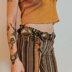 WEBSTA @ allhellbrookeloose - A limited amount of these black leather concho belts just went up on @backbite_. They've got some really sweet vintage picks too today  - get em before they're gone on www.shopbackbite.com