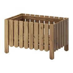IKEA - ASKHOLMEN, Flower box, You can place the shelf at the bottom of the flower box or higher up, depending on how you want to display your plants.</t><t>For added durability, and so you can enjoy the natural expression of the wood, the furniture has been pre-treated with a layer of semi-transparent wood stain.