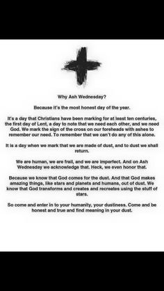 Meaning of Ash Wednesday (by Jennifer Frayer-Griggs) Ash Wednesday Meaning, Ash Wednesday Images, Ash Wednesday Prayer, Ash Wednesday Quotes, Lent Prayers, Easter Prayers, Catholic Lent, Catholic Religion, Faith Sayings