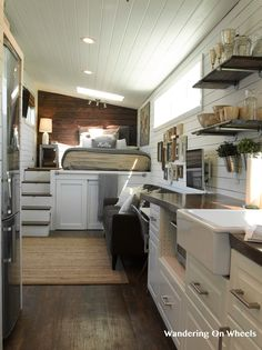 The Wandering On Wheels: a popular tiny house, currently available for sale!