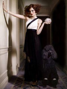 I just like the poodle!