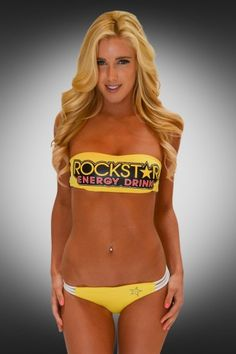 NEW Rockstar Bandeau Bikini just in time for Labor Day Weekend! Monster Energy Girls, Rockstar Energy, Bandeau Bikini, Sexy Bikini, Pit Girls, Fitness Motivation Pictures, Scene Girls, Fox Racing, Atvs