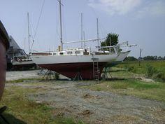 1974 Bristol 27 sailboat for sale in Va Beach Virginia Sailboats For Sale, Bristol, Sailing Ships, Virginia, Beach, Winter, Winter Time, The Beach, Beaches