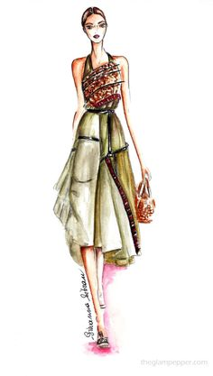 Fashion inspiration   Military chic   Giovanna Sitran, The Glam Pepper