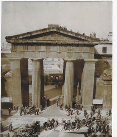 The lost Euston Gate