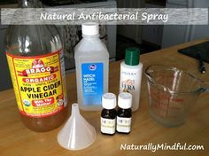 Diy Natural Hand Sanitizer Spray Alcohol Free