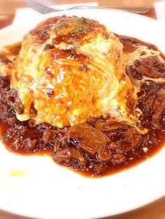Omu rice(omellete rice)