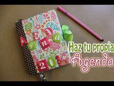 Cómo hacer una agenda ¡Personaliza como quieras! http://ini.es/1vzYpUi #ComoDecorarUnaAgenda, #HacerUnaAgenda, #Manualidades