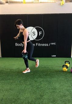 Kettlebell Exercises: Single-Leg Deadlift to Row to Clean