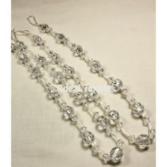 Crystal Beaded Tie Backs Curtain Bead Tiebacks Le Co Uk